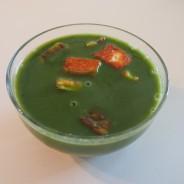 Layers of Soup with Spinach (Katman Katman Ispanak Corbasi)