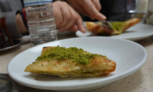 Delicious Gaziantep-style katmer