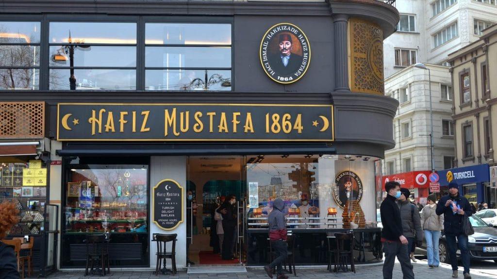 Hafız Mustafa has some of the best Turkish delight in Istanbul