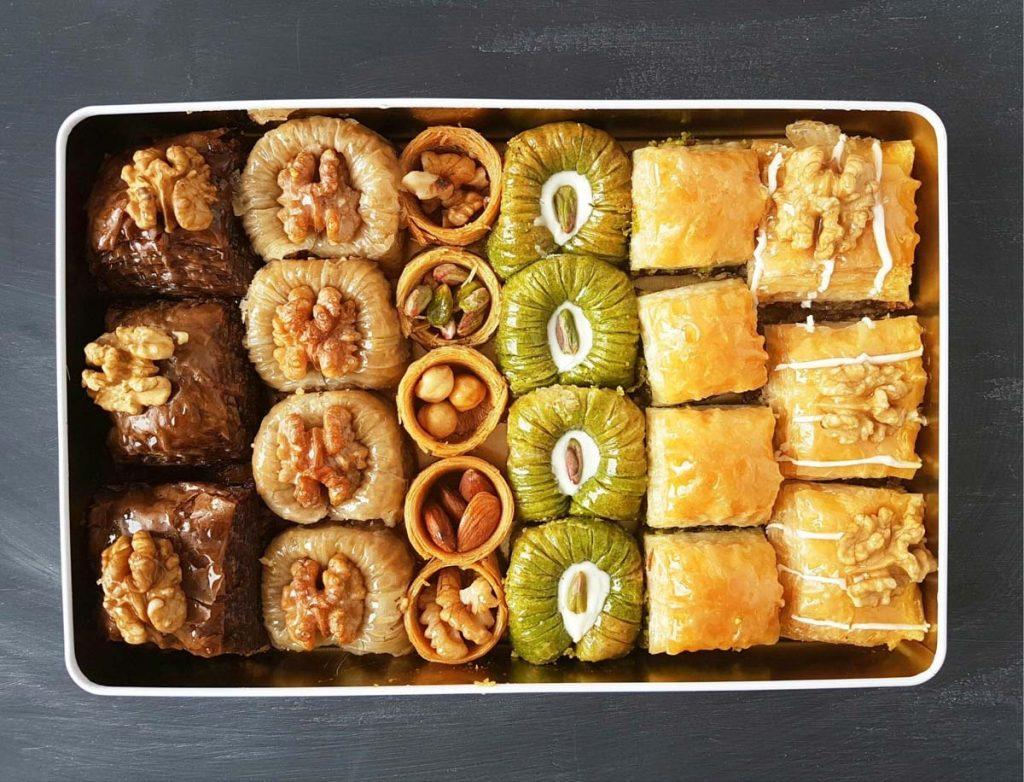 A traditional Turkish Food: Baklava